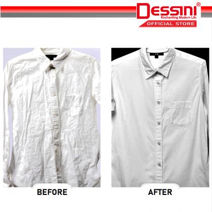 DESSINI ITALY 2600W Electric Ceramic Soleplate Garment Steam Iron Sprayer Steamer Clothes Brush / Seterika Baju