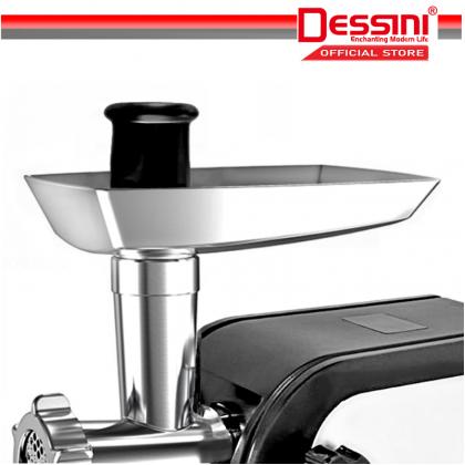 DESSINI ITALY 1800W Stainless Steel Electric Meat Grinders Sausage Maker Stuffer Blender Chopper Mixer Mincer / Pengisar