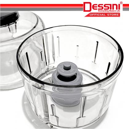DESSINI ITALY Capsule Cutter Spin Chopper Blender Grinder Mixer Mincer Masher Shredder Juicer / Pengisar Pengadun